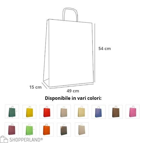 Borse Carta Rainbow 54x15x49