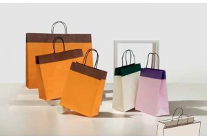 Shopper Duetto bordo risvoltato