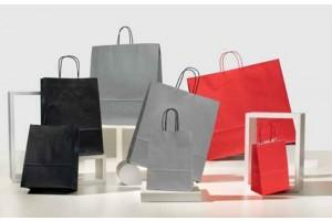 Shopper Colorati Pastello nero grigio rosso