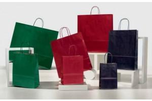 Shopper Colorati Sealing verde bordeaux blu notte