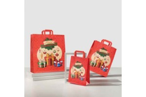 Shopper in carta GIFT NATALE