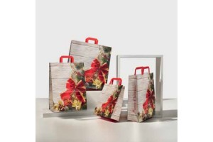 Shopper in carta Merry Christmas