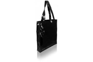 Shopper Fashion Plastificata- 3,56 Euro – 38x8x40 - Nera - 100 Pz.