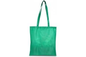 Shopper in TNT grande con manici lunghi - 0.56 Euro Cad. - 38x42 - Verde - 200 Pz.