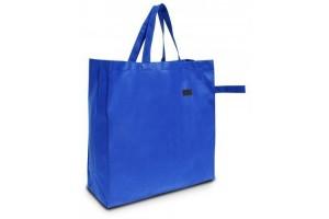 Shopper in TNT per la spesa - 1.19 Euro Cad - 42x15x42 - Blu Royal - 200 Pz.