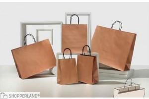 Shopper bronzo bordo risvoltato