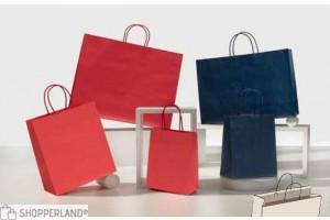 Shopper colorati (bordo risvoltato)