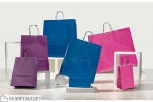 Shopper Colorati Pastello viola blu fucsia