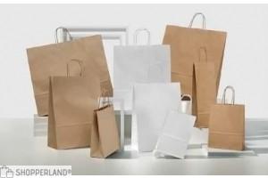 Shopper manico ritorto senza stampa