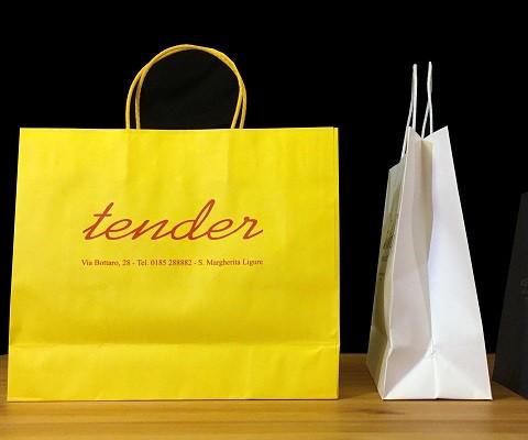 Shopper carta personalizzata