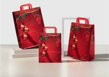 Shopper Carta Natale